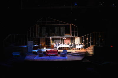 August Osage County Leazah Behrens Theatrical Design
